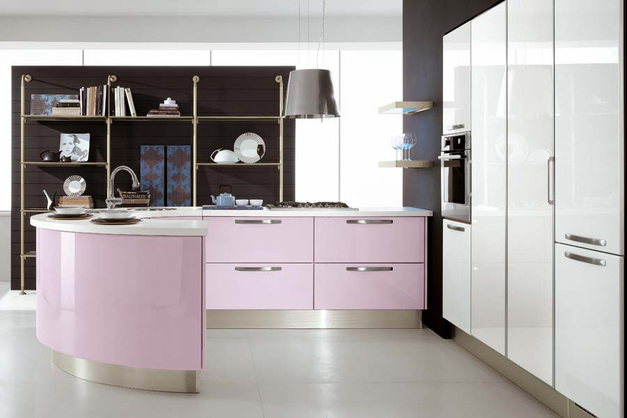 10 Photos To Vintage Pink Kitchen