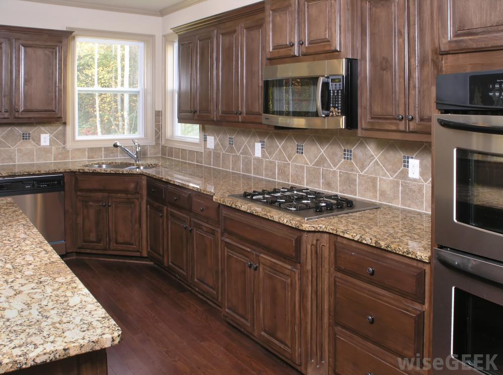 Wall mounted kitchen organizer photo - 1
