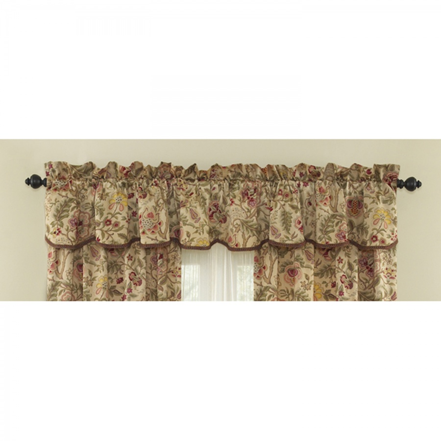 Waverly kitchen curtains and valances photo - 2