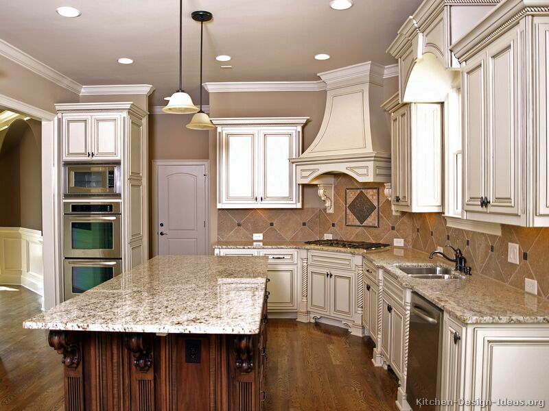 White counter height kitchen table photo - 2