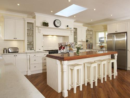 10 Photos To White Country Kitchen Table 04 Cottage Kitchen Design