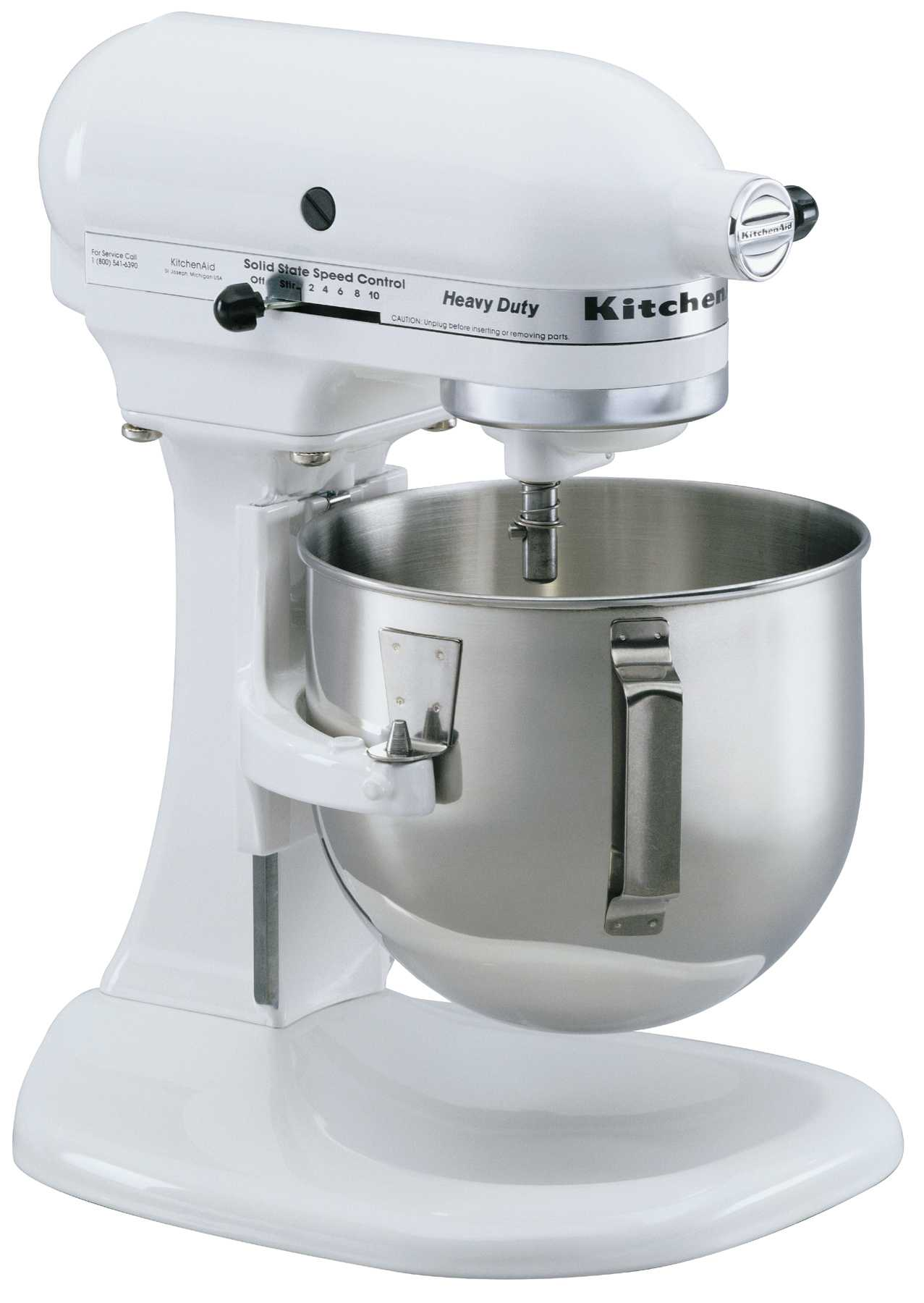 White kitchen aid mixer photo - 1