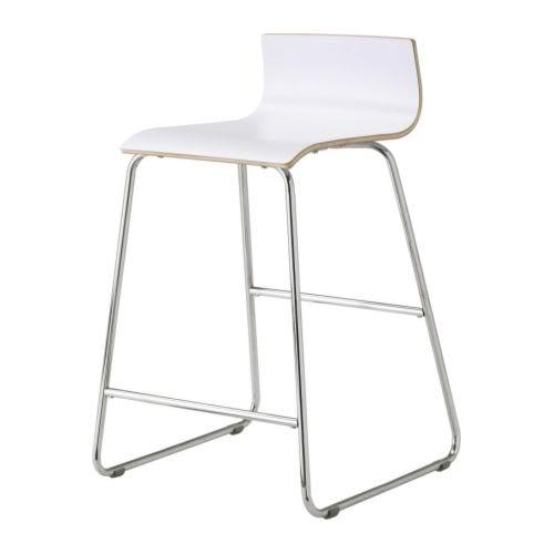 White kitchen bar stools photo - 3