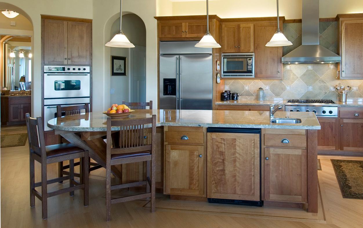 White kitchen cart island photo - 3