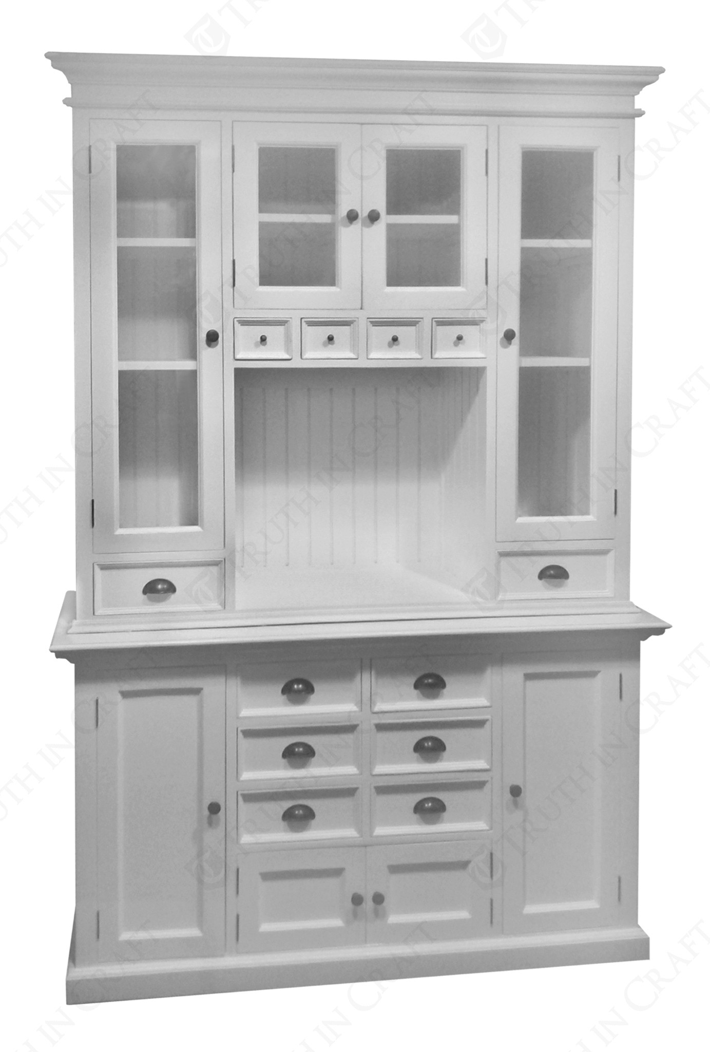 Image of: White Kitchen Hutch Cabinet Kitchen Ideas