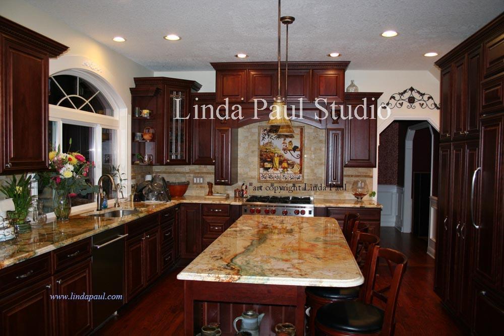 White kitchen stools photo - 2