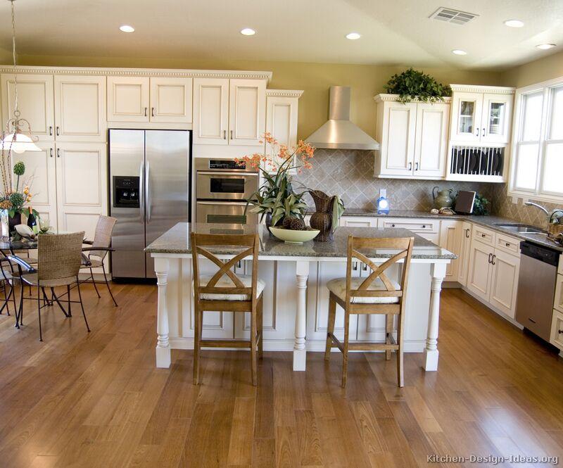 White kitchen wall cabinets photo - 3