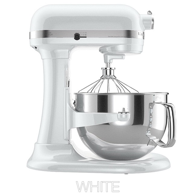 White kitchenaid photo - 3