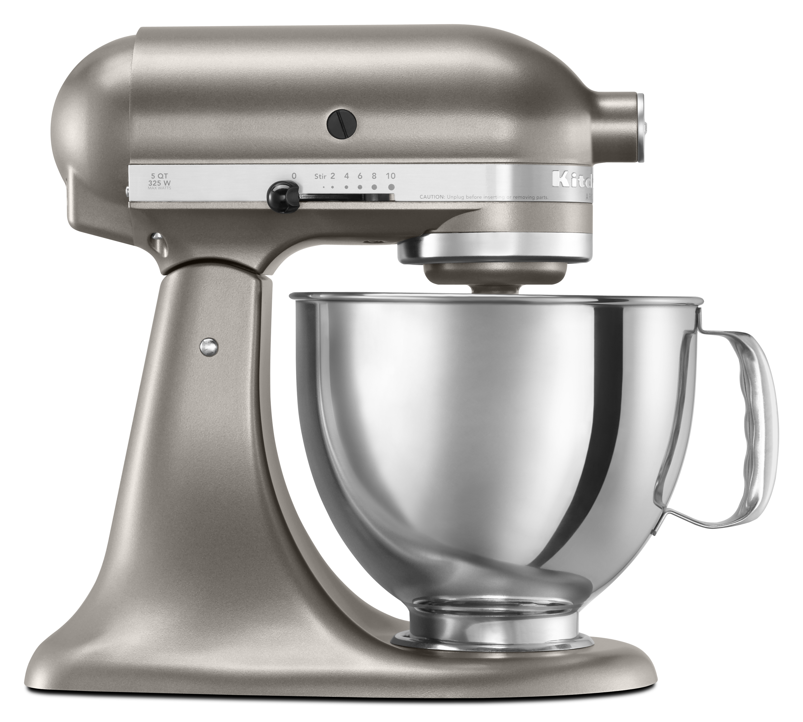 White kitchenaid stand mixer photo - 2