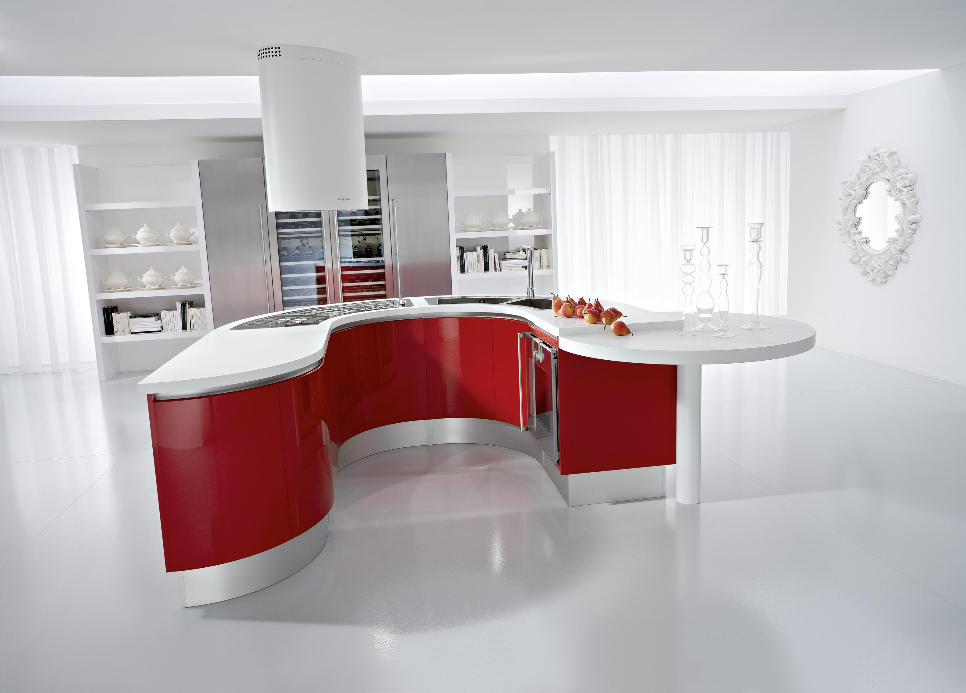 White modern kitchen photo - 1