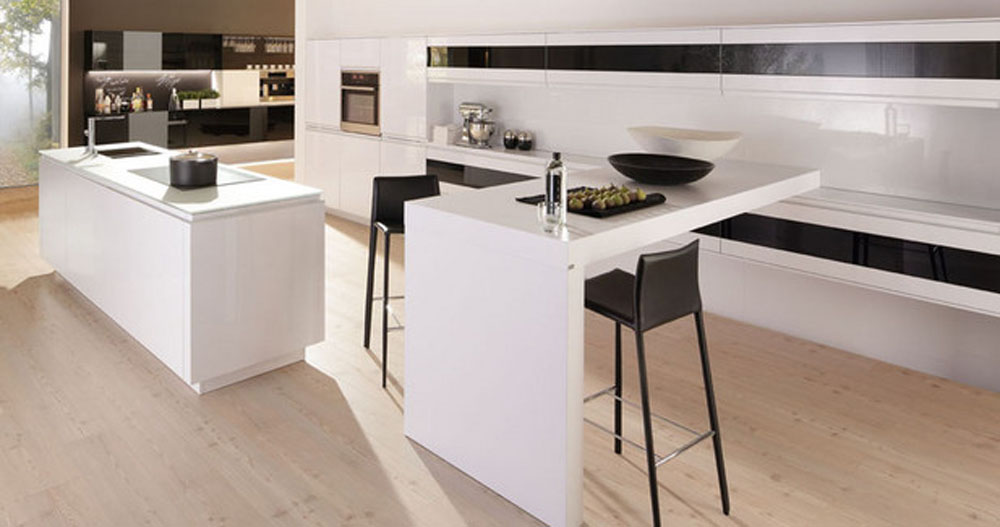 White modern kitchen photo - 2
