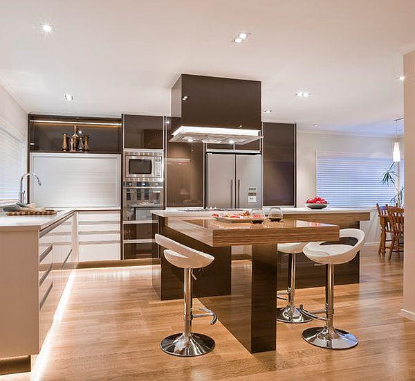 White round kitchen table photo - 2
