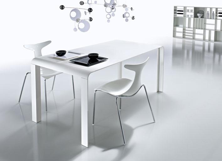 White round kitchen table photo - 3