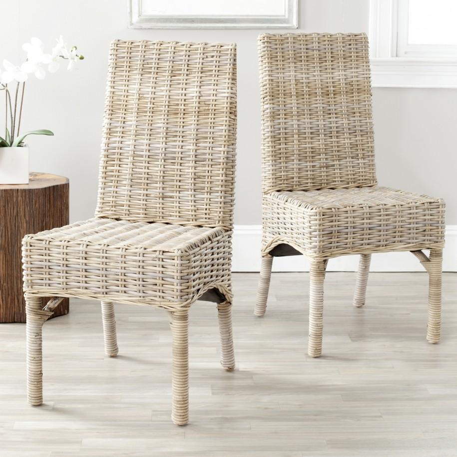 Wicker kitchen chairs photo - 2