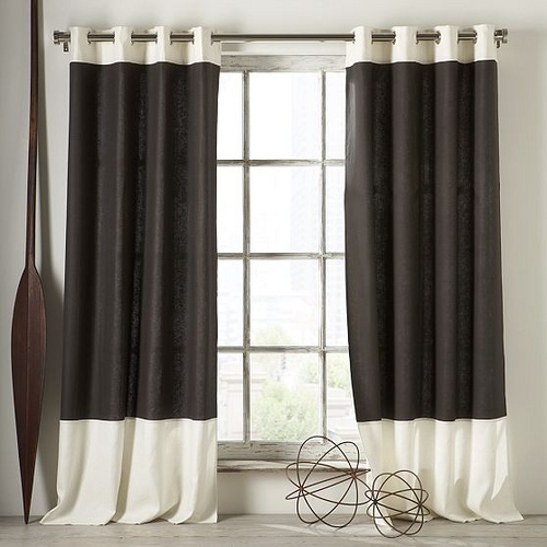 Window curtains for kitchen photo - 3