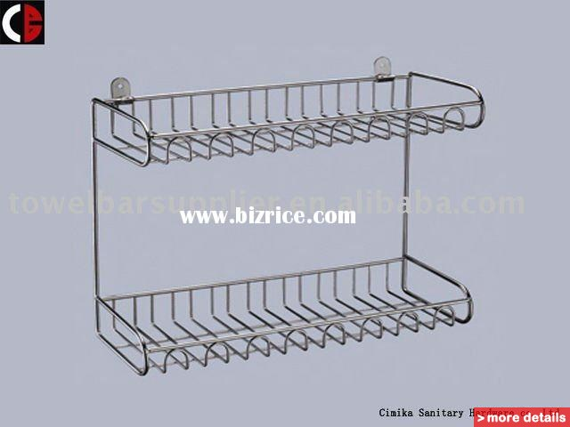 Wire kitchen shelf photo - 2