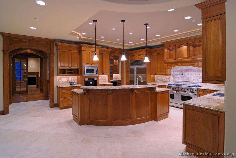 Wood kitchen island table photo - 2