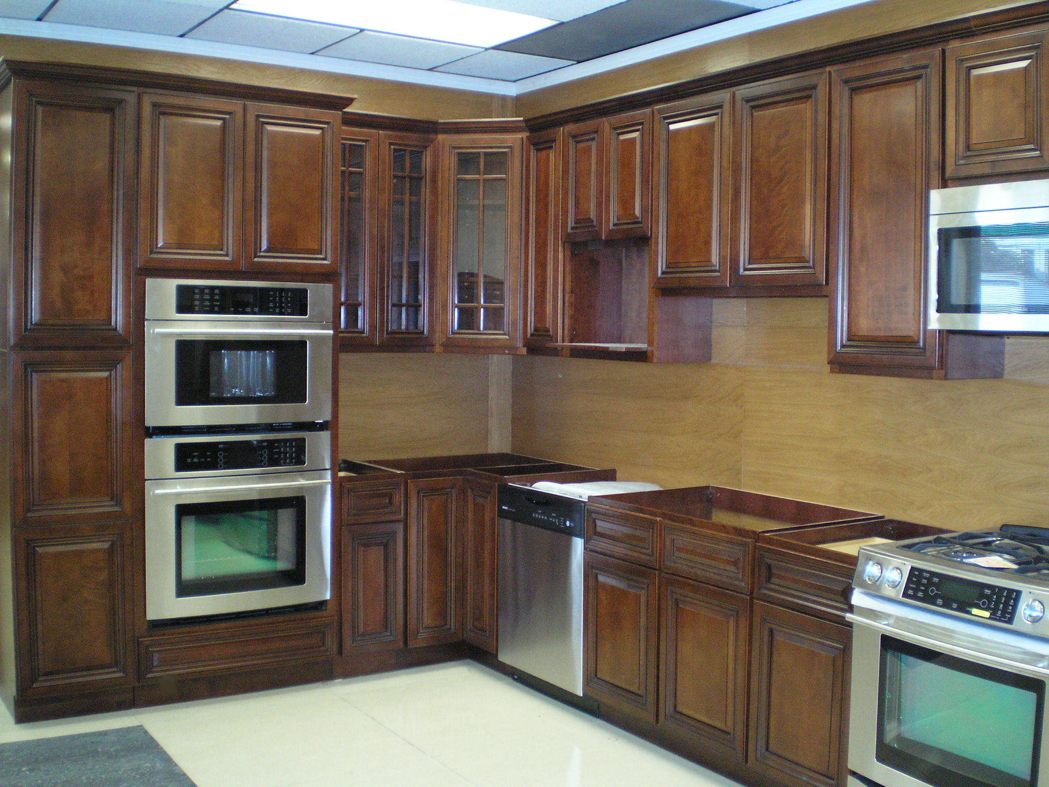 Wood kitchen pantry photo - 1
