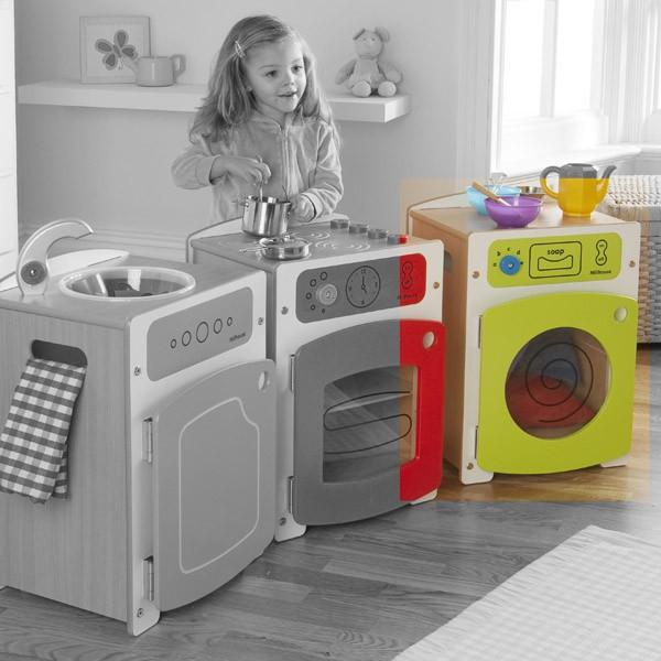 Wooden childrens kitchen photo - 1