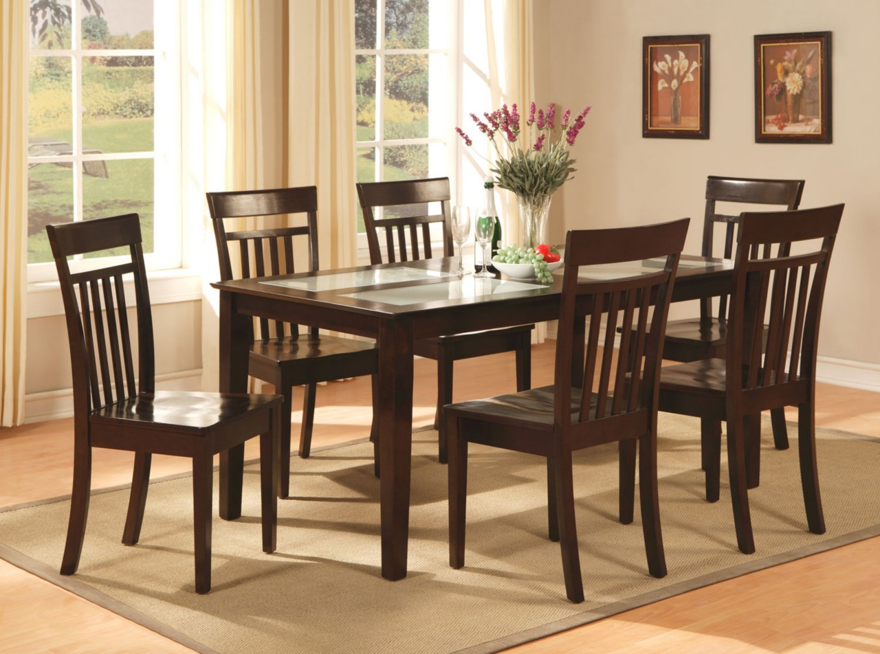 Wooden kitchen table and chairs photo - 3