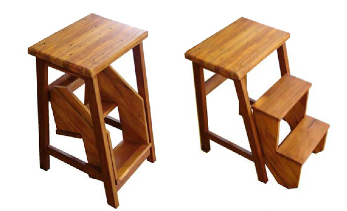 Wooden Step Stools For The Kitchen Kitchen Ideas