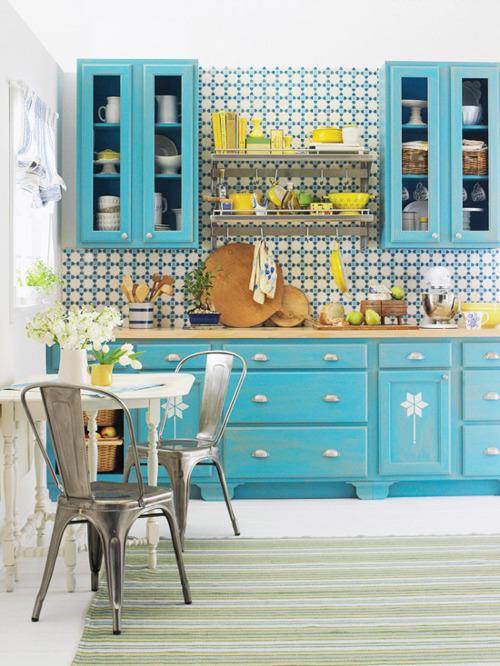 Yellow kitchen appliances photo - 3