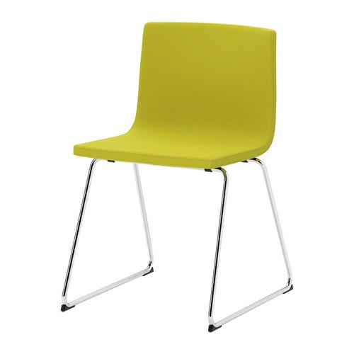 Yellow kitchen chairs photo - 3