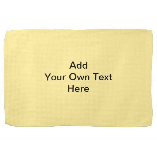 Yellow kitchen towels photo - 2