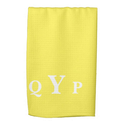 Yellow kitchen towels photo - 3