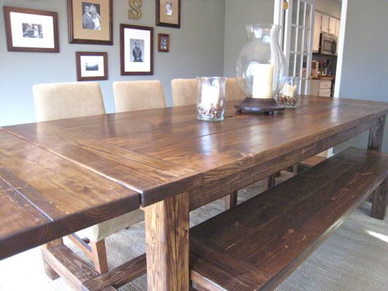 10 photos to Farmhouse kitchen table styles-decorate your kitchen your way