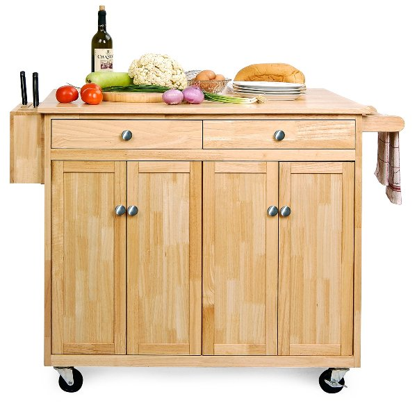 Selecting The Right Portable Kitchen Island Design | Kitchen Ideas