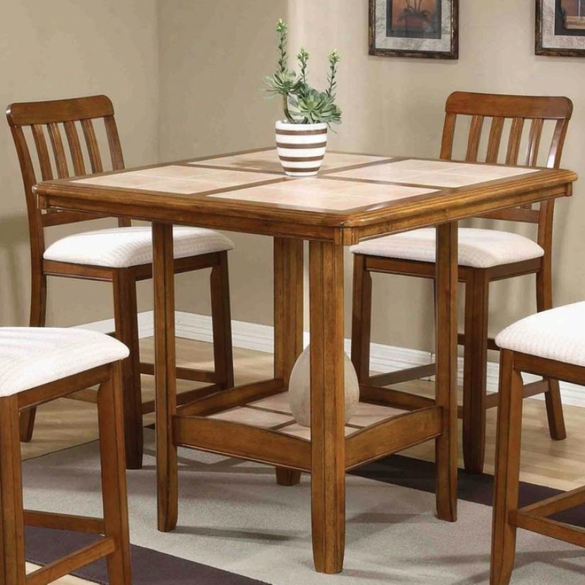 Comfortable Tall Kitchen Table | Kitchen Ideas