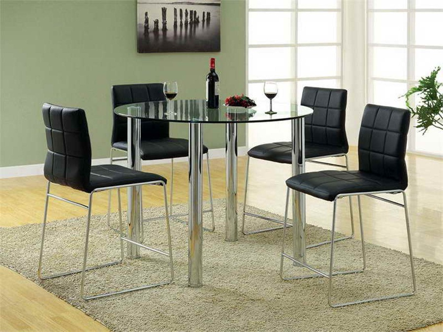 glass kitchen tables round glass dining room tables and