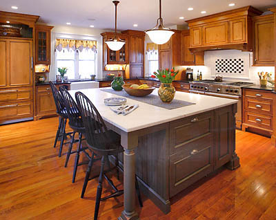 oversized kitchen islands extend your cooking area with the help of a large kitchen 14489
