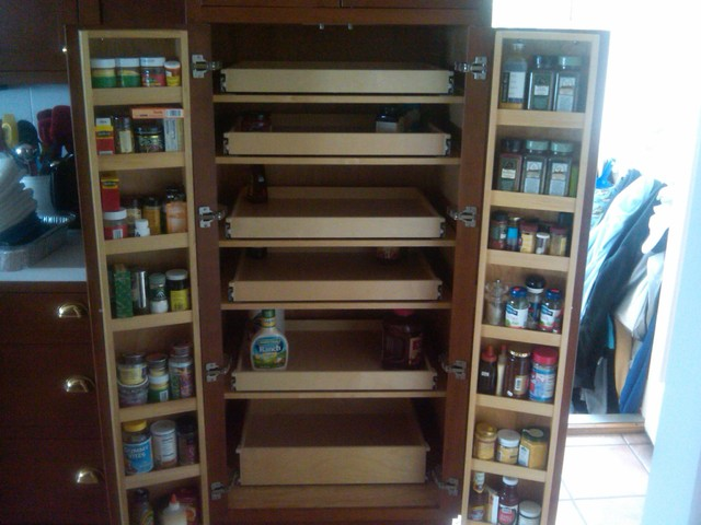 Pantry Cabinets With Pull Out Shelves | Sevenstonesinc.com