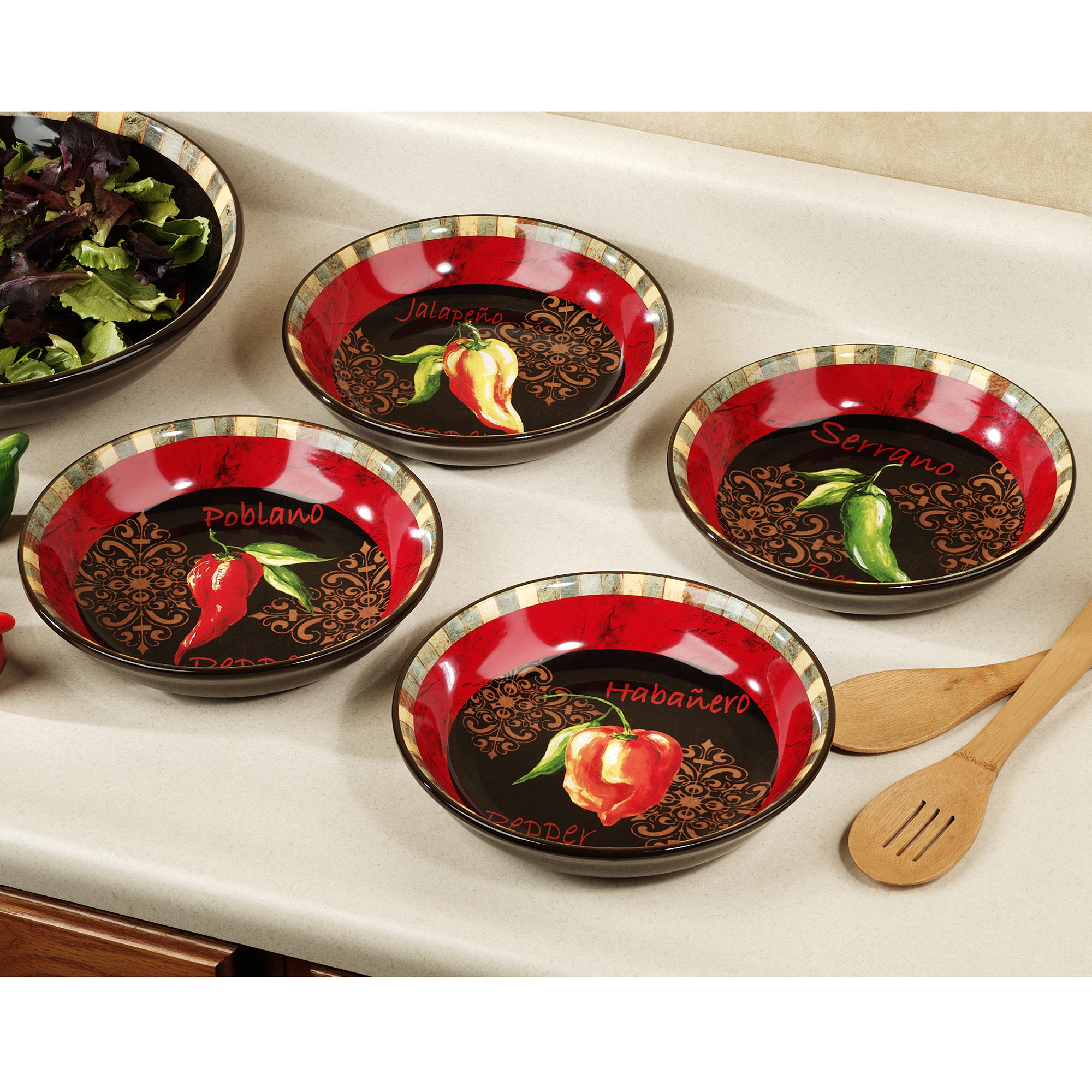 Red Chili Pepper Kitchen Decor Room Image And Wallper 2017