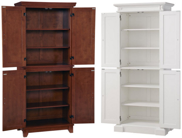 free standing kitchen pantry cabinet stand alone pantry cabinets home decor 6720
