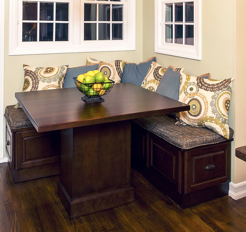 Kitchen Table With Storage Kitchen Ideas
