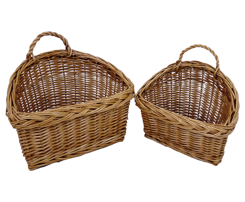 Hanging Wall Basket Baskets For Kitchen Vintage French Wire