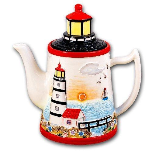 Attirant Awesome Lighthouse Kitchen Curtains Taste