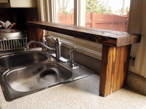 above kitchen sink shelf sink shelf kitchen kitchen ideas 3968
