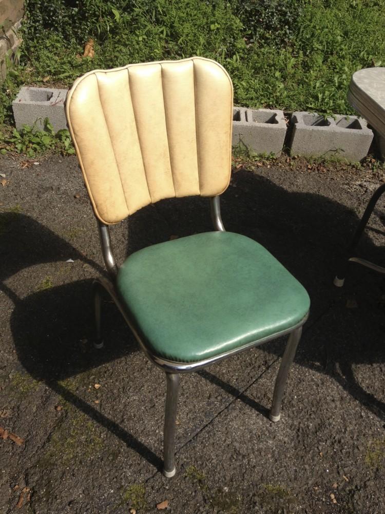 Finest Vintage Chrome Kitchen Chairs @FB99 ...