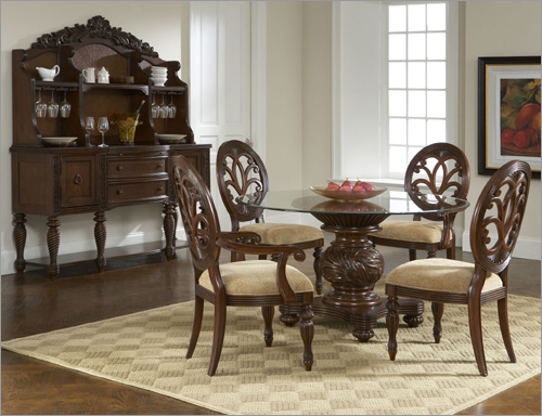 round glass kitchen table home design and decorating