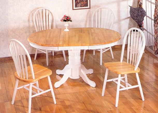 white country kitchen table white pedestal kitchen table kitchen ideas 1284