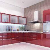 Who else wants to learn add new color to their Kitchen.