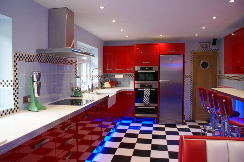 vintage diner kitchen decor home design ideas