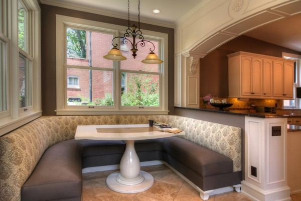 10 Photos To Kitchen Booth Table