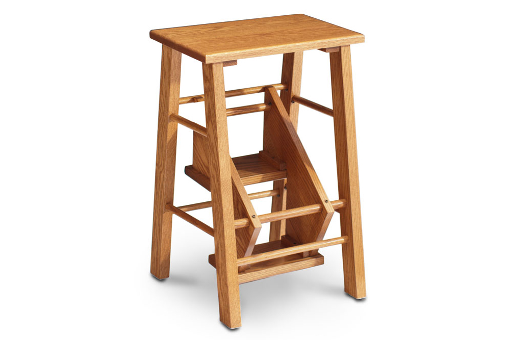 10 Photos To Kitchen Step Stool Chair