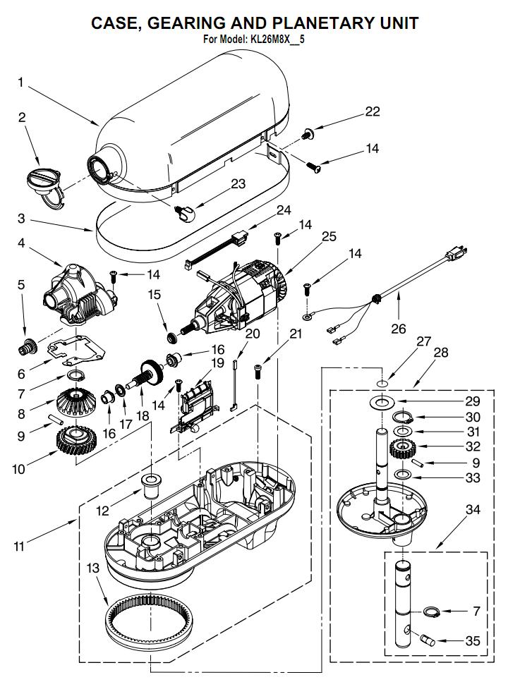 Hand Blender Parts ~ Kitchenaid stand mixer service manual pdf besto