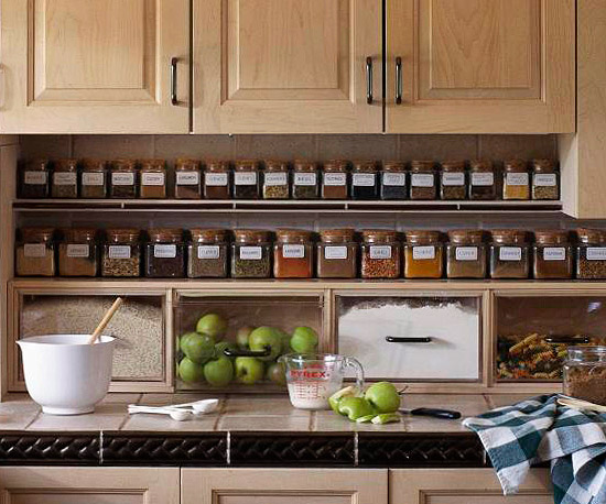 small kitchen organization | | kitchen ideas
